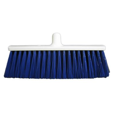 Hygiene straatbezem blauw 40cm