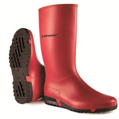 Dunlop Sportlaars rood (O)