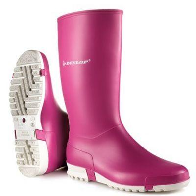 Dunlop Sportlaars roze (O)