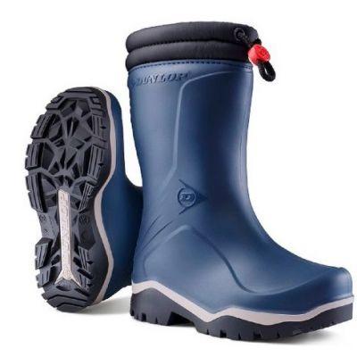 Dunlop Kids Blizzard winterlaars blauw
