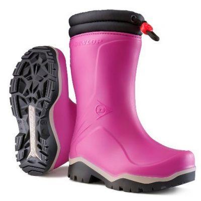 Dunlop Kids Blizzard winterlaars roze