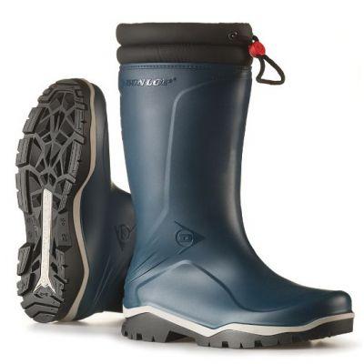 Dunlop Blizzard winterlaars blauw