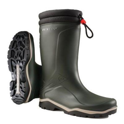 Dunlop Blizzard winterlaars groen