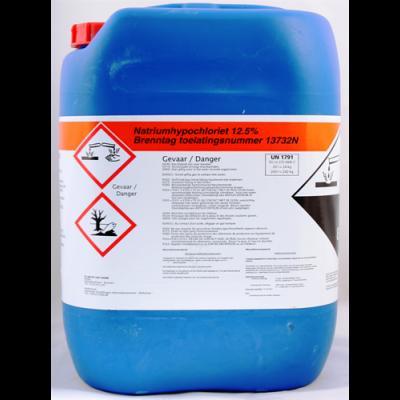 Natriumhypochloriet (12,5% CL)- can 24 kg (56 cans)