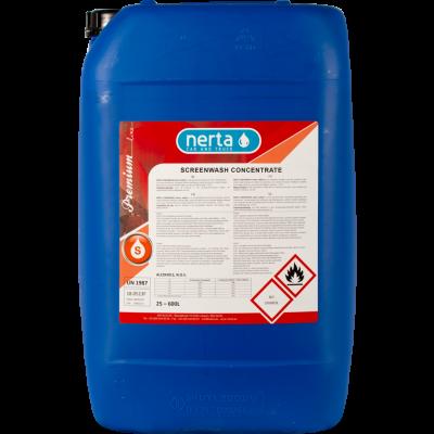 NERTA SCREEN WASH CONCENTRATE (1:1) (25L) - ruitensproeiervloeistof