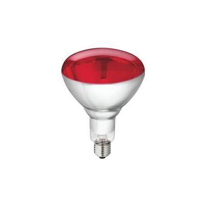 Warmtelamp Philips 250w. Rood