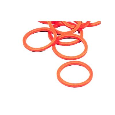 Ring voor kalverventiel (3mm) -ROOD-