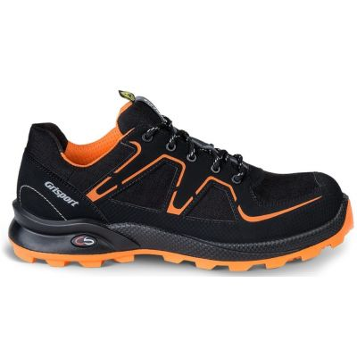 Werkschoen Grisport Cross Safety Beat zwart/oranje S3