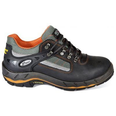Werkschoenen Grisport 71605 zwart/oranje- S3