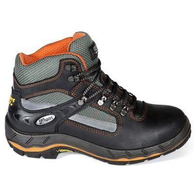 Werkschoenen Grisport 71607 zwart/oranje- S3