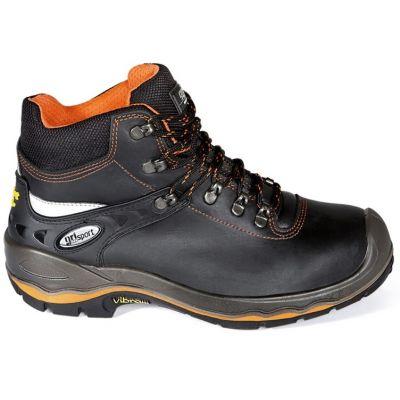 Werkschoenen Grisport 72003 zwart/ oranje- S3