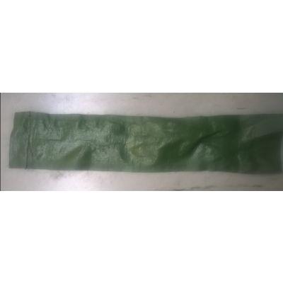 Zandslurven (leeg) 120x25cm, groen met handvat (BUDGET VERSIE) 250 stuks