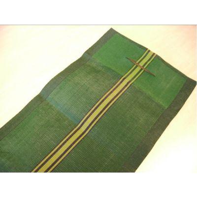 Zandslurven, (leeg) 120x27cm, groen met handvat en sluitkoord 50 stuks